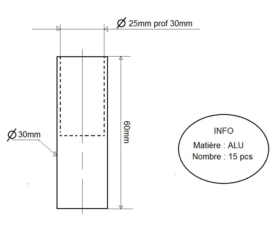 support main courante bateau alu usinage de. Black Bedroom Furniture Sets. Home Design Ideas