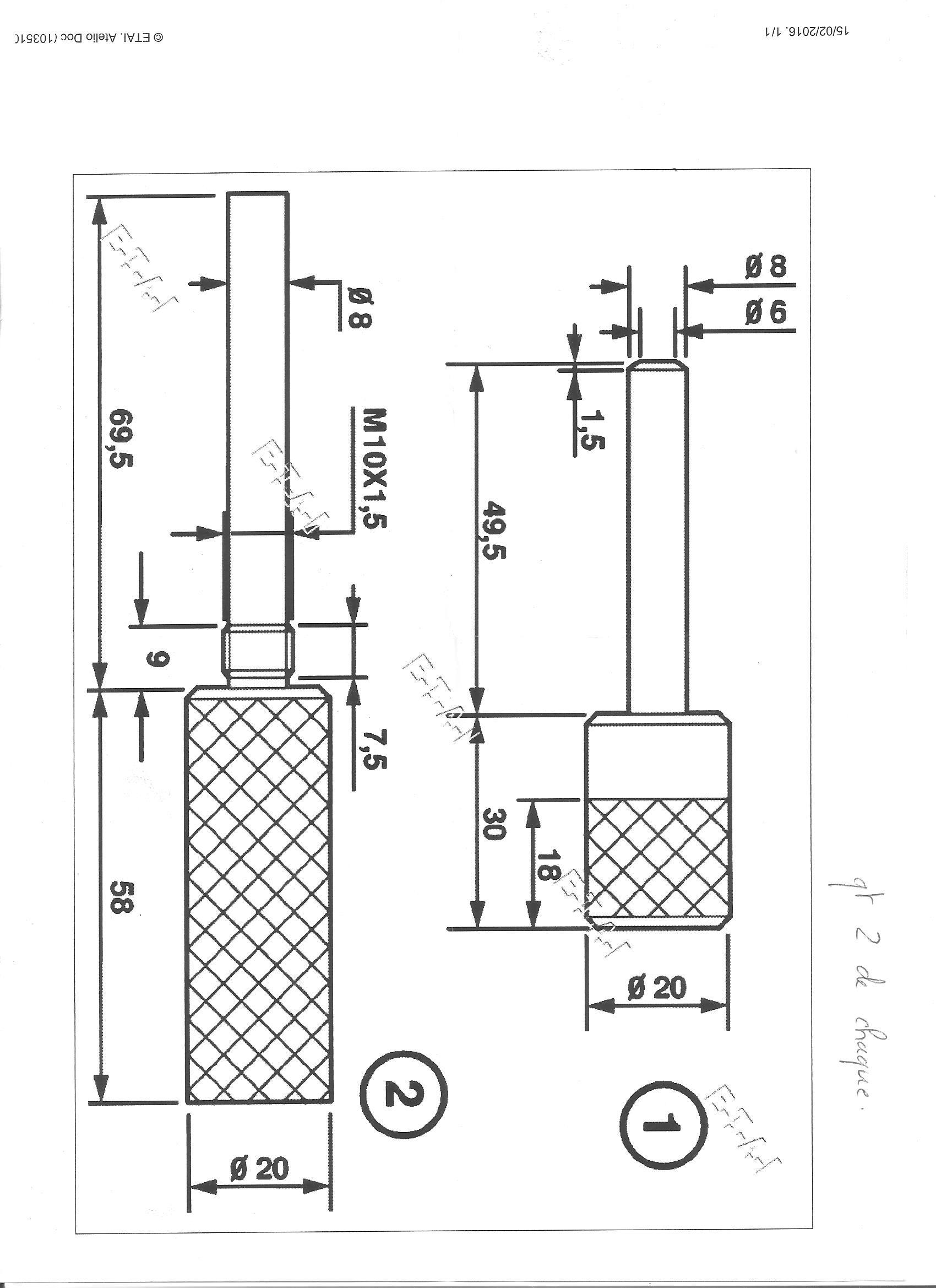 pige de calage distribution usinage de pi ces. Black Bedroom Furniture Sets. Home Design Ideas