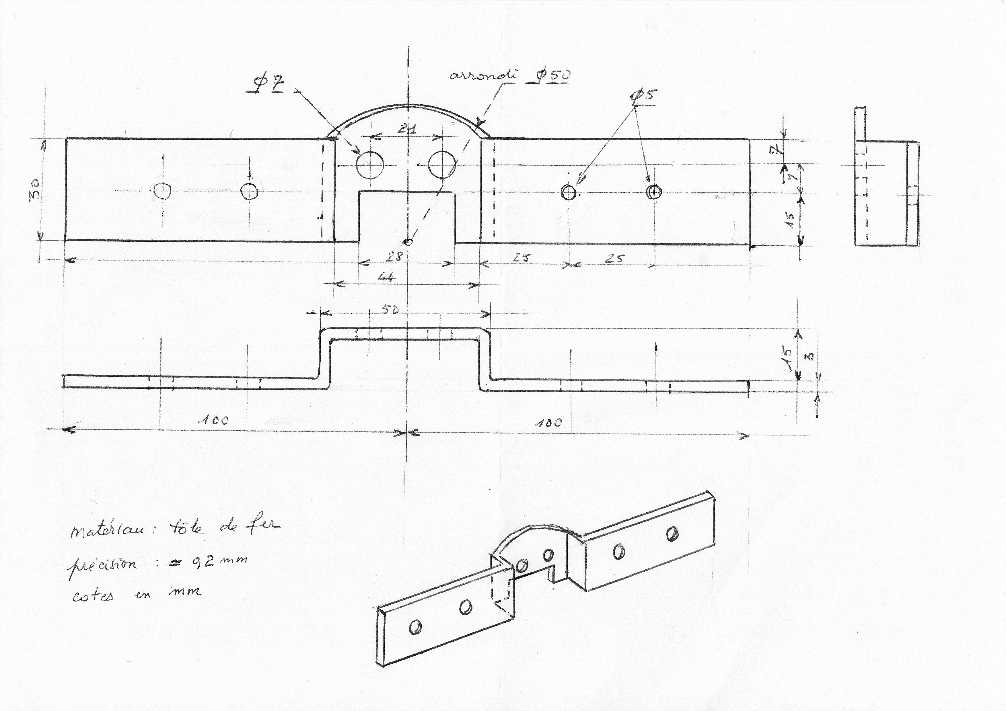 fixation pour robinet d 39 vier usinage de pi ces. Black Bedroom Furniture Sets. Home Design Ideas