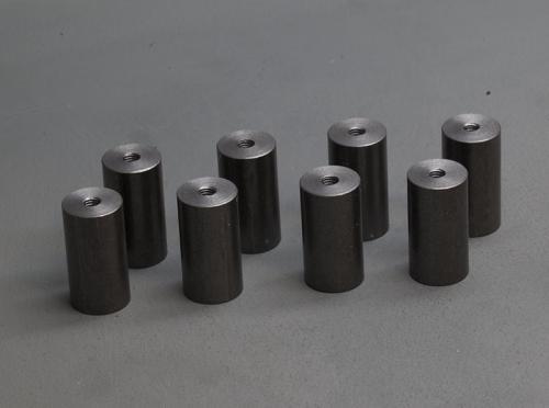 cylindre acier fileté
