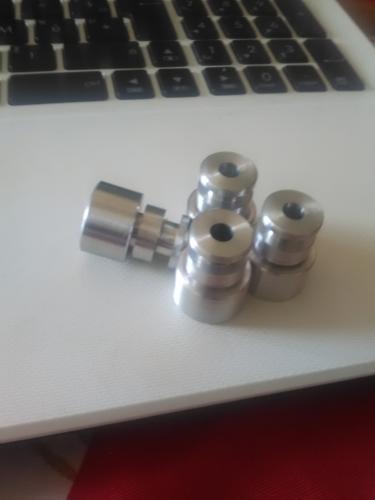 4 extensions d'injecteur en aluminium