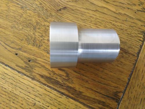 Pièce aluminium pour cadre moto