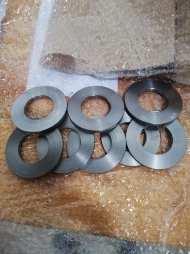 8x bague acier diam ext 85mm, diam int 45mm, epaisseur 6mm