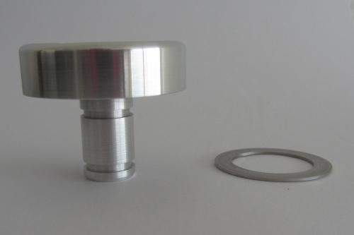 Cache Ecrou Aluminium ET Rondelle Inox