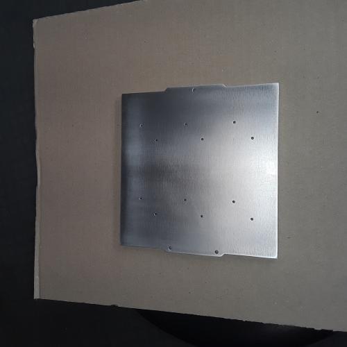Réalisation plaque aluminium