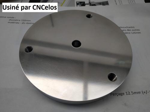 Platine diamètre 150mm