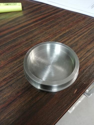 Rondelle acier epaulée , non debouchée