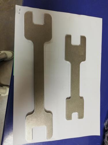clés à fourches inox